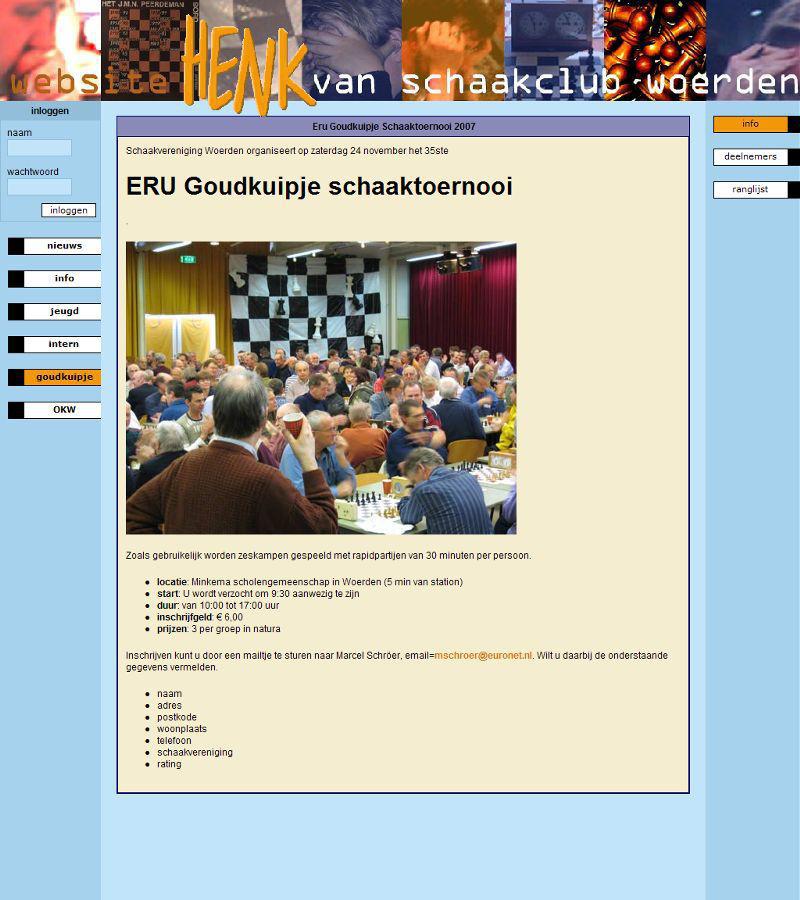 Website Henk 2007